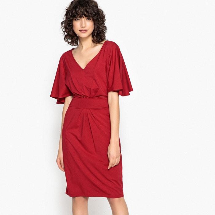 Anliegendes Kleid, Kimono-Form  La Redoute Collections image 0