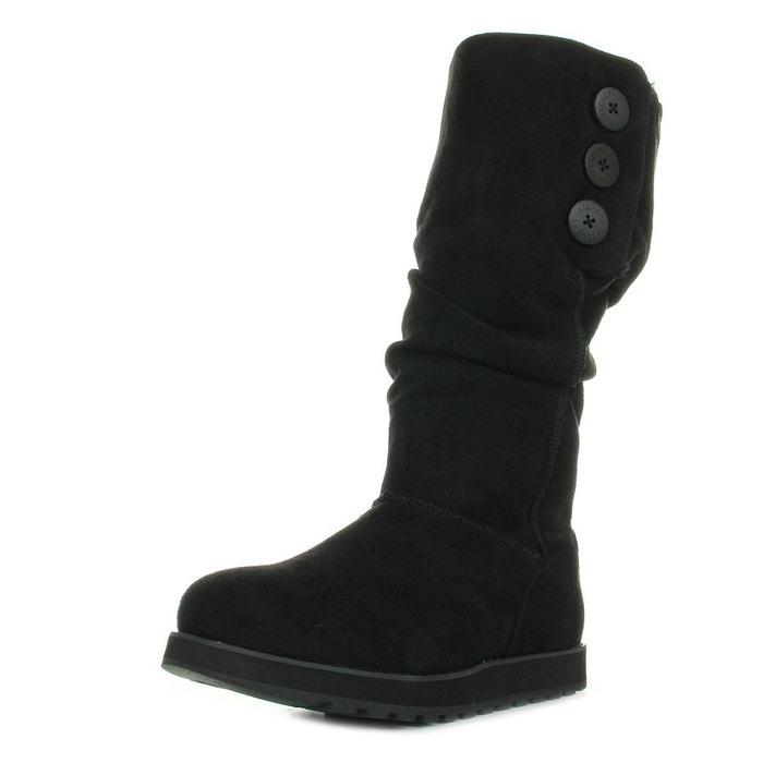Bottes femme freezing point noir Skechers
