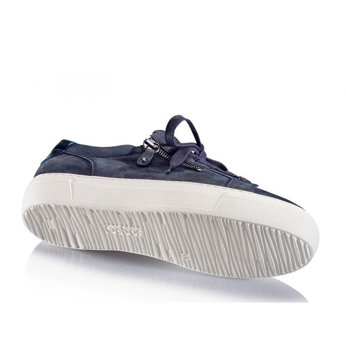 Baskets compensées bleu Gabor