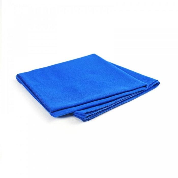 Bandana coton bleu roi uni bleu Allee Du Foulard   La Redoute b3515c3b5d9