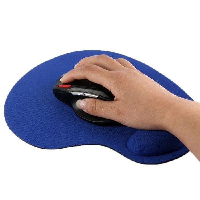 tapis de souris repose poignet de qualit ergonomique ultra fin bleu bleu yonis la redoute. Black Bedroom Furniture Sets. Home Design Ideas