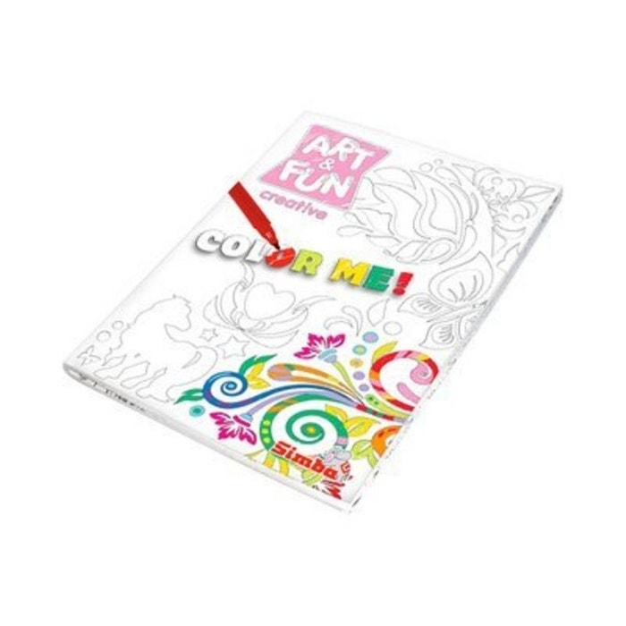 Kit Coloriage Fille.Simba Le Kit De Coloriage Art Fun Fille Multicolore Simba La Redoute