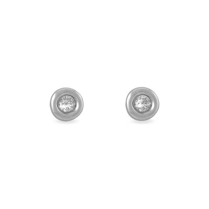 Boucles d'oreilles or blanc Histoire D'or | La Redoute Pas Cher Profiter kY9lN8B