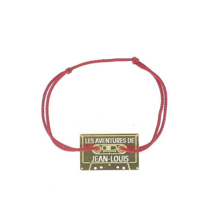 Bracelet avec cassette rouge La Mome Bijou   La Redoute combien Sortie Basse Frais D'expédition Vente Style De Mode Pas Cher dzLZV4