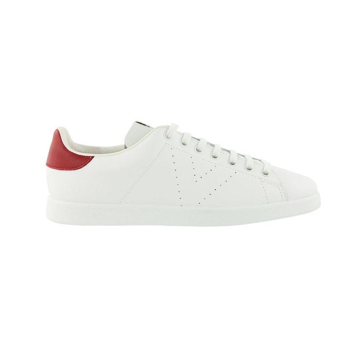 Baskets deportivo blanc/rouge Victoria