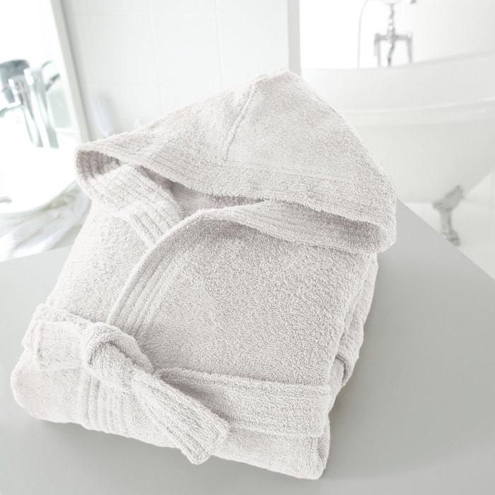 Cotton Hooded Bathrobe  La Redoute Interieurs image 0