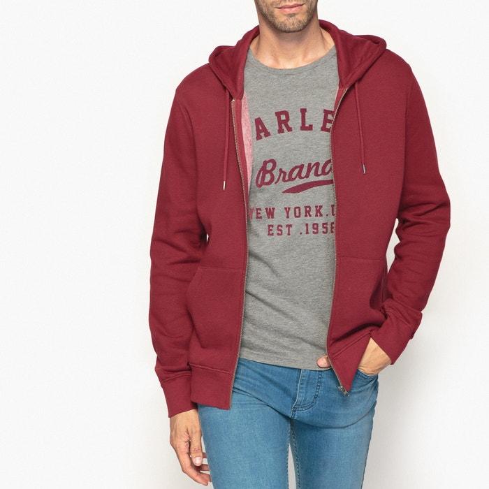 Zip-up hoodie  La Redoute Collections image 0