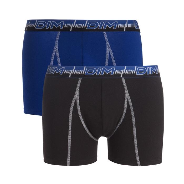 Boxer 3D FLEX DYNAMIQUE in cotone stretch, confezione da 2  DIM image 0