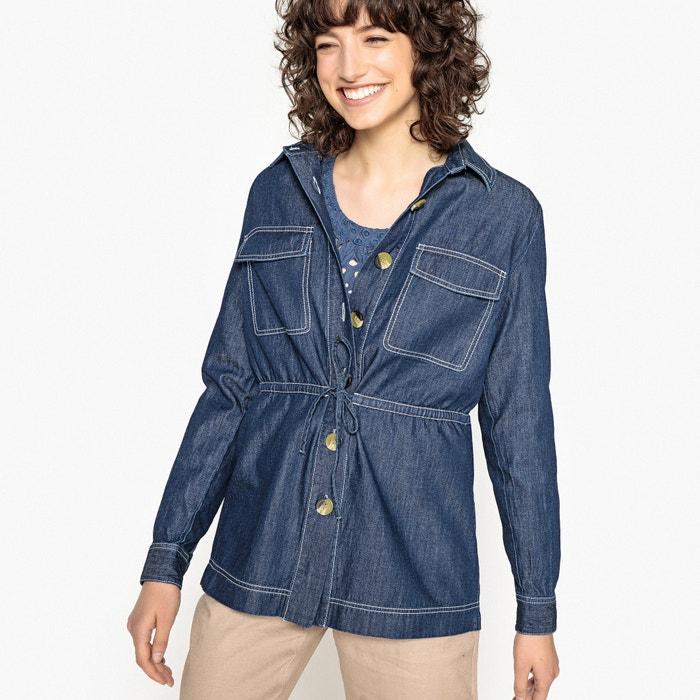 Camicia denim puro cotone, maniche lunghe  La Redoute Collections image 0