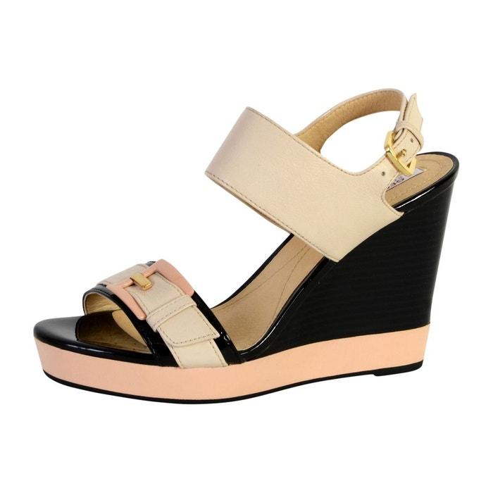 Geox Sandale D Janira E bleu - Livraison Gratuite avec  - Chaussures Sandale Femme