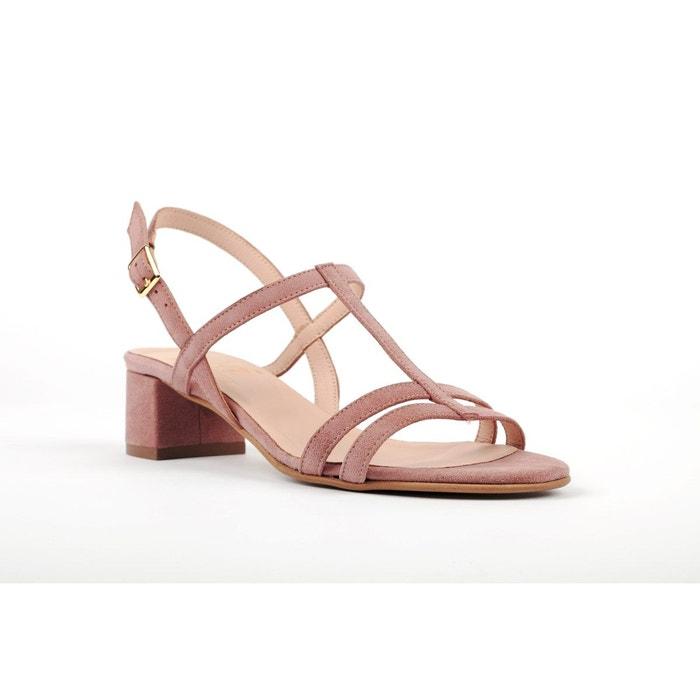 Sandale doris  rose pâle Mz Made For Petite  La Redoute