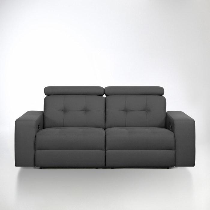 Image Canapé de relaxation manuel Julema en tissu coton demi-natté La Redoute Interieurs