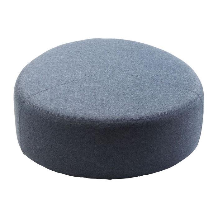 pouf coco gris kare design gris kare design la redoute. Black Bedroom Furniture Sets. Home Design Ideas