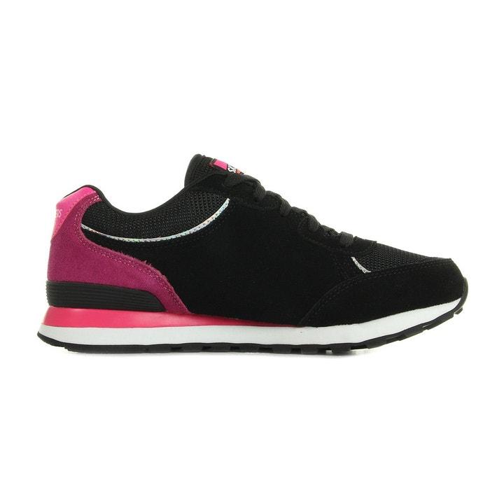 Og 82 flynn black/ hot pink noir/rose/blanc Skechers