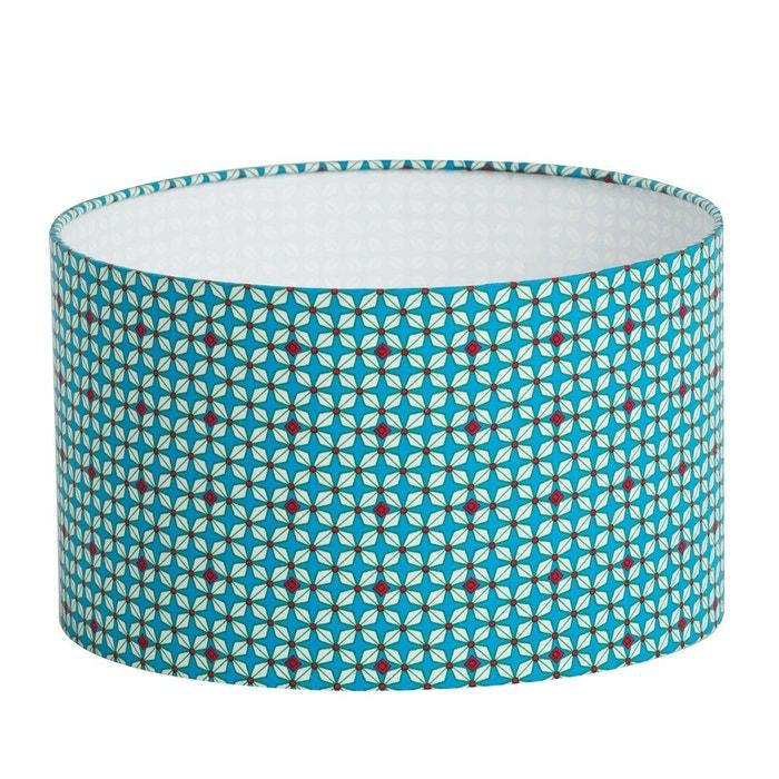 abat jour bleu Abat-jour tissu hélium turquoise - diamètre 30 cm bleu-turquoise Fabuleuse  Factory | La Redoute