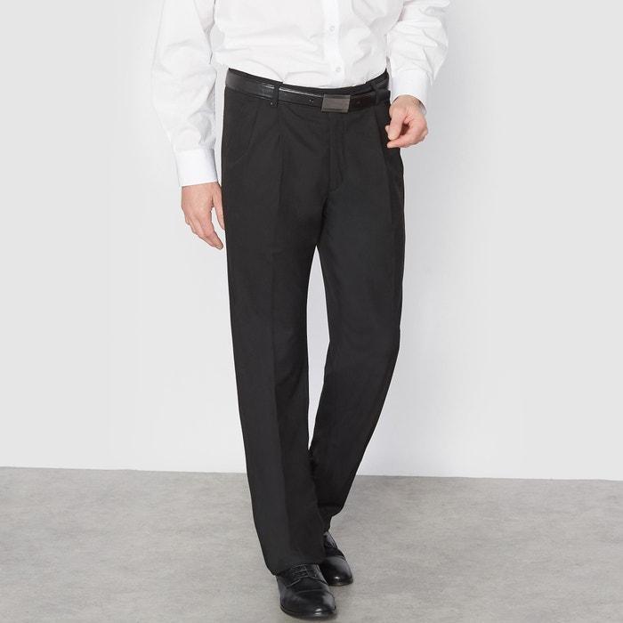 Pantaloni da completo con pinces stretch lunghezza 2  CASTALUNA FOR MEN image 0