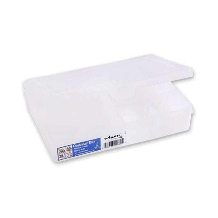 Bo te 7 compartiments transparent compactor la redoute for Boite a couture la redoute
