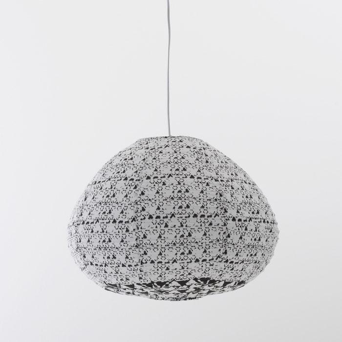 afbeelding Hanglamp in katoen, Zalie La Redoute Interieurs