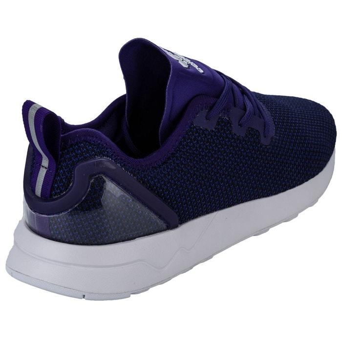 Adidas originals zx flux adv asymetrical chaussures mode sneakers homme violet violet Adidas Originals