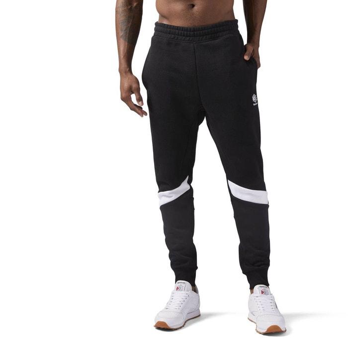 Pantalon de survêtement en molleton noir Reebok Classics