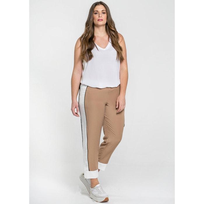 Pantaloni larghi, con fasce laterali  MAT FASHION image 0