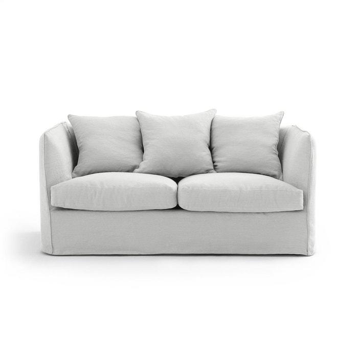 canap 2 places fixe n o chiquito lin froiss am pm la. Black Bedroom Furniture Sets. Home Design Ideas