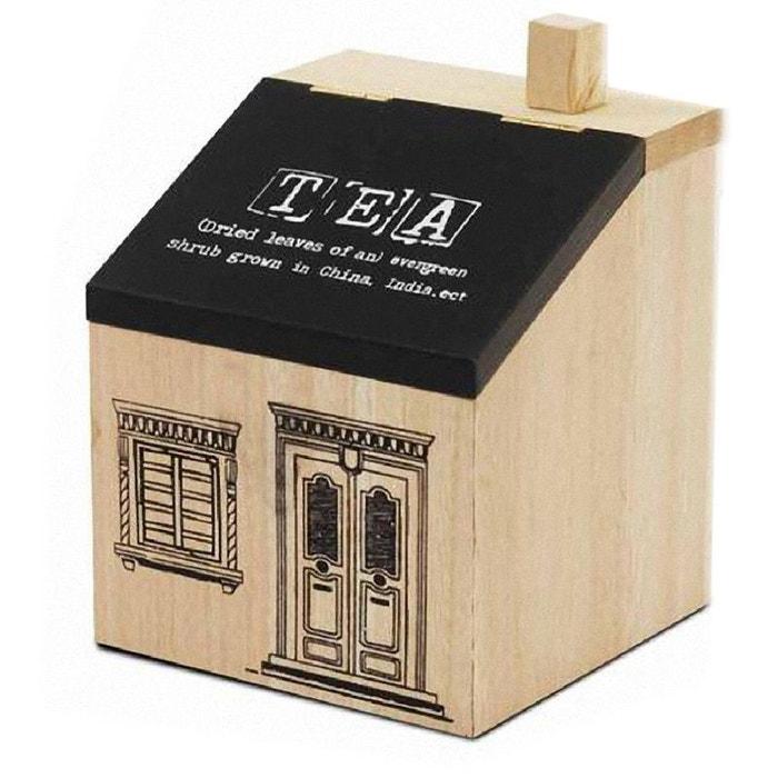 Boite en bois pour le th couleur unique united labels for Boite a couture la redoute
