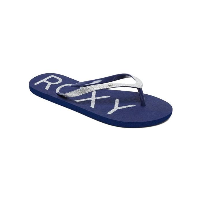 cfa224722a126 Tongs viva glitter bleu navy Roxy
