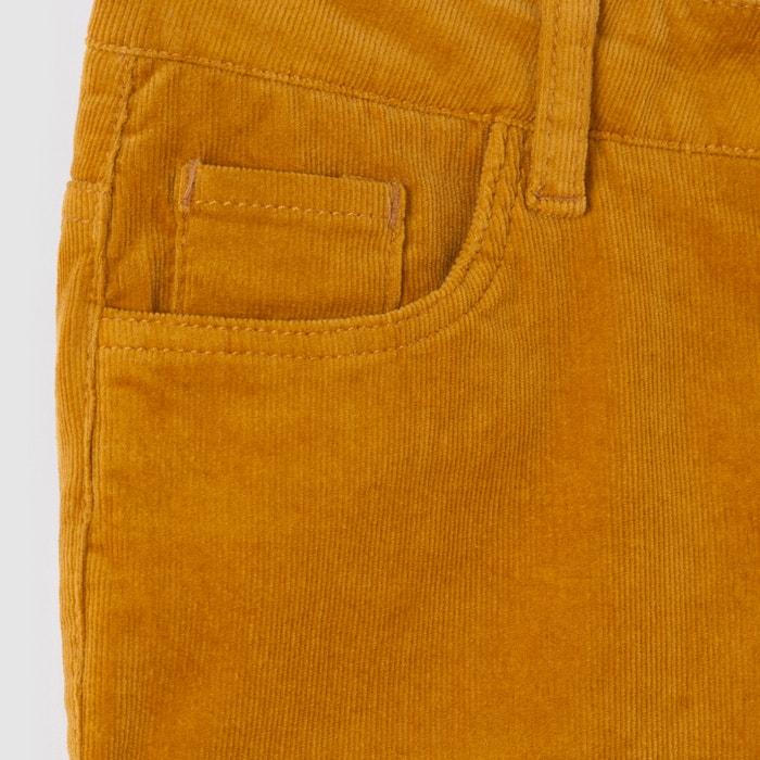 Image Pantalon slim velours 10-16 ans La Redoute Collections