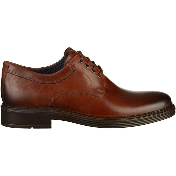 f202a0e0b3d Chaussures basses cuir marron Ecco