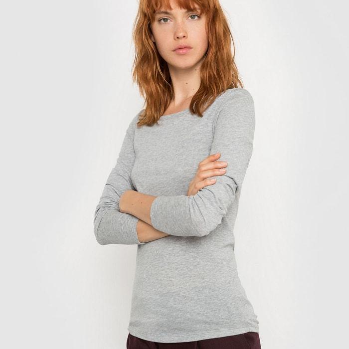 T-shirt col rond Tencel/Laine La Redoute Collections