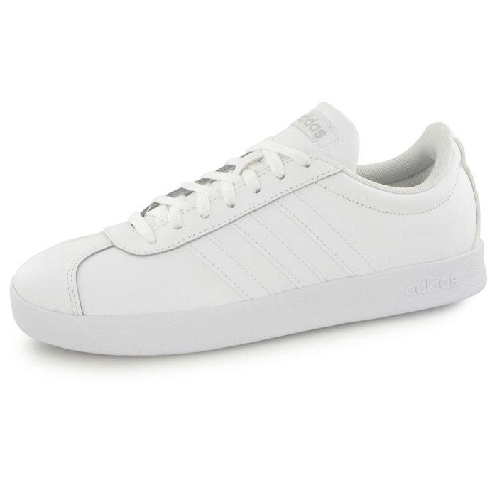 Baskets adidas vl court 2.0 blanc femme  blanc Adidas  La Redoute