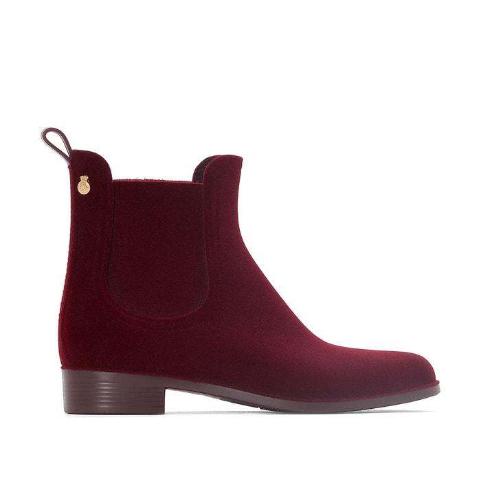Velvety Wellington Boots