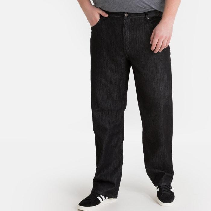 7593c475cd12 Jeans regular cintura subida especial tamanho grande LA REDOUTE COLLECTIONS  PLUS image 0
