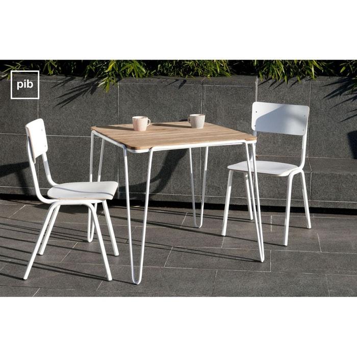 table de repas espace couleur unique produit interieur brut la redoute. Black Bedroom Furniture Sets. Home Design Ideas