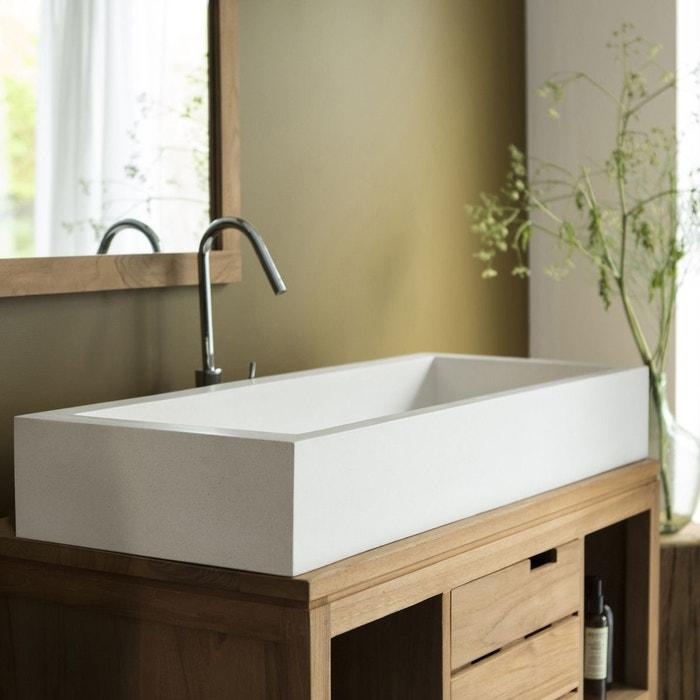 vasque salle de bain en terrazzo pegase 100 couleur unique tikamoon la redoute. Black Bedroom Furniture Sets. Home Design Ideas