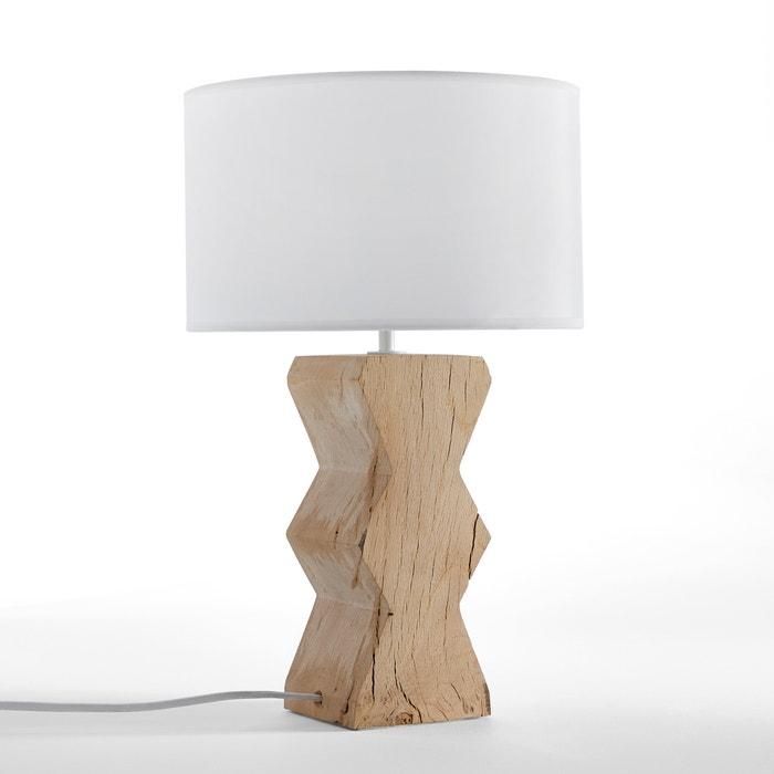 lampe poser anucha am pm naturel la redoute. Black Bedroom Furniture Sets. Home Design Ideas