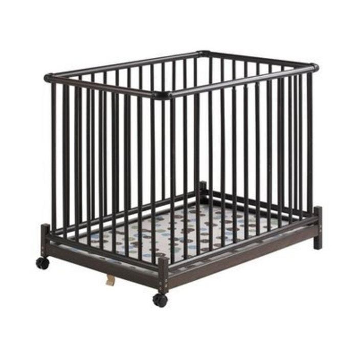 geuther le parc euro parc colonial 73 x 102 cm parc b b brun geuther la redoute. Black Bedroom Furniture Sets. Home Design Ideas