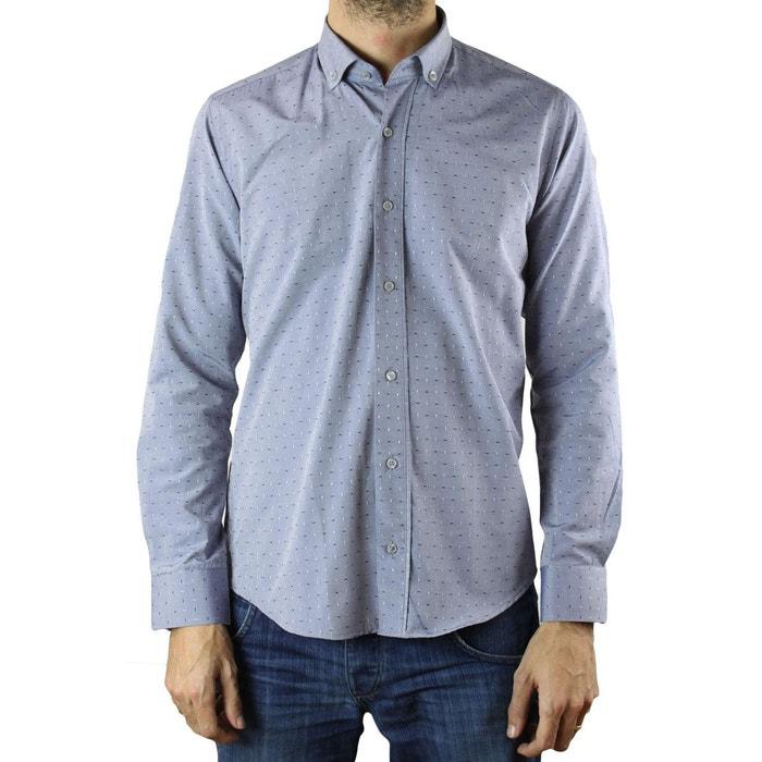 chemise 9007 bleu kebello la redoute. Black Bedroom Furniture Sets. Home Design Ideas