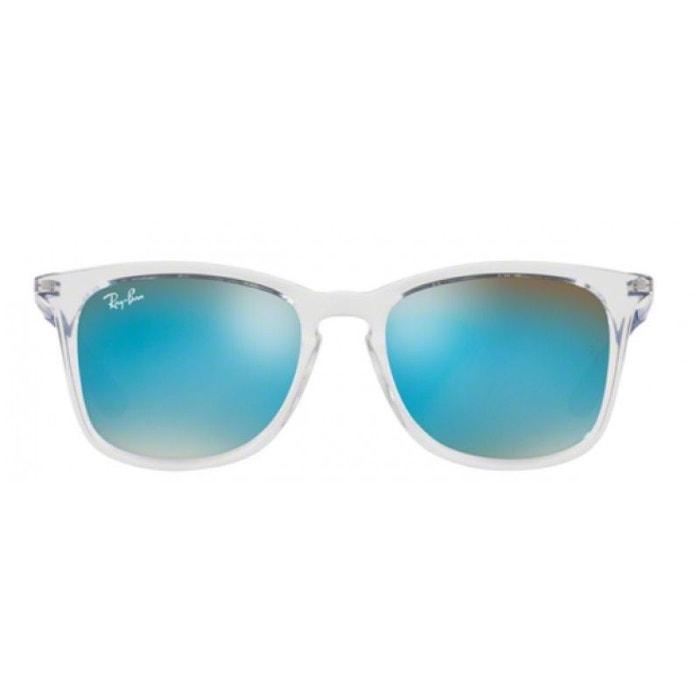 e7e99977945c88 Lunettes de soleil pour enfant ray ban bleu marine rj 9063s 7029b7 48 16  cristal Ray-Ban   La Redoute
