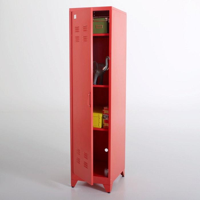 Image Hiba Metal Locker-Style Storage Unit La Redoute Interieurs
