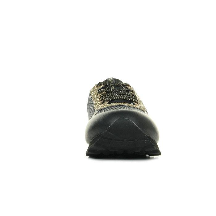 Baskets femme linea fondo amber dis1 mesh glitter noir, doré Versace