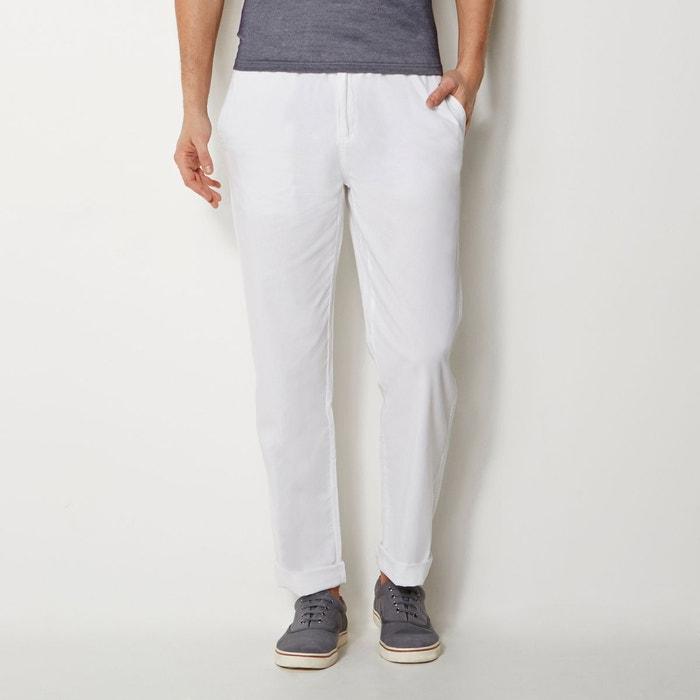 La Redoute Taille Droit Collections Élastiquée Pantalon pBqawtxt1