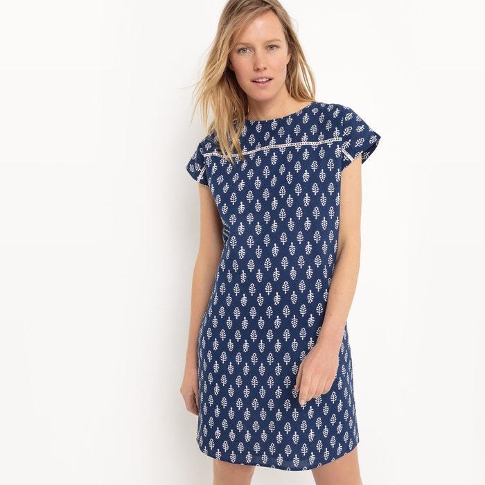 afbeelding Bedrukte jurk, knielengte La Redoute Collections