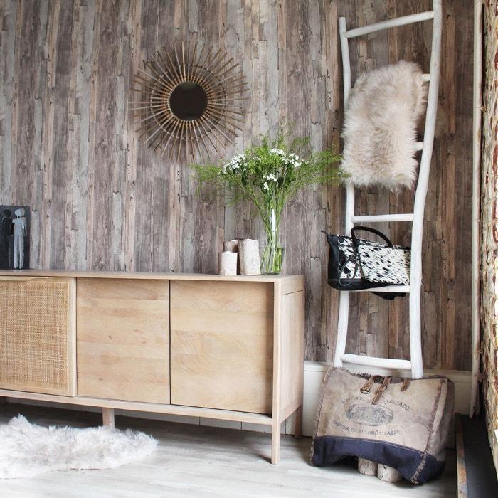 miroir soleil en rotin petit mod le vdl en soldes bois made in meubles la redoute. Black Bedroom Furniture Sets. Home Design Ideas