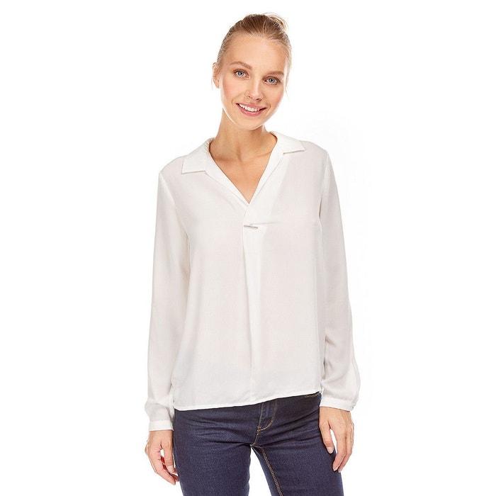 Blouse col chemise ouvert avec barrette décorative Best Mountain   La  Redoute becdc3265766
