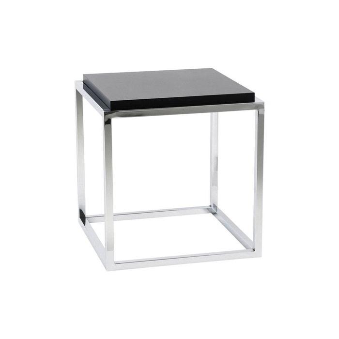 Table Basse Design Kvadra Kokoon Design Noir Kokoon Design La Redoute