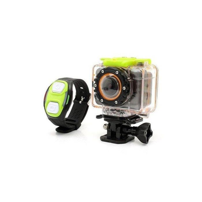 Mini caméra sport télécommandé caisson waterproof 30m full hd 1080p Yonis    La Redoute ab671b33a09f