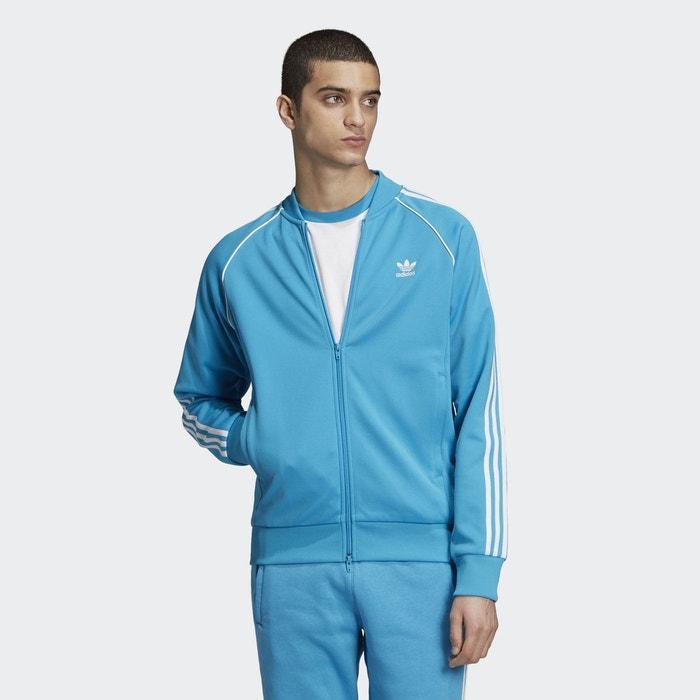Veste de survêtement sst bleu Adidas Originals  1ee8fe5889e