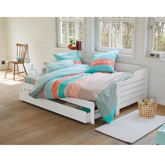 housse de couette imprim e west coast la redoute. Black Bedroom Furniture Sets. Home Design Ideas